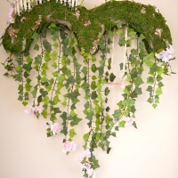 Cascade Heart Wreath - In the Garden