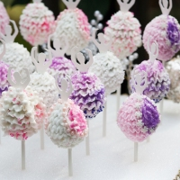 Ballerina Cake Pops!