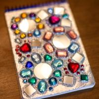 Mirror Gem Notebook