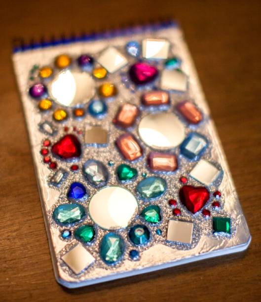 Mirror Gem Notebook
