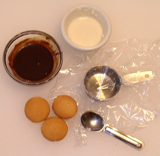 Ingredients used for the tiny Tiramisu