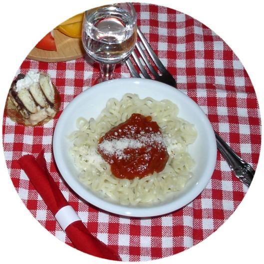 Tiny spaghetti