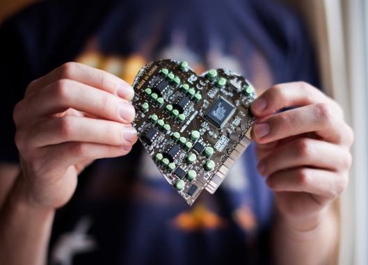 Circuit Board Valentine