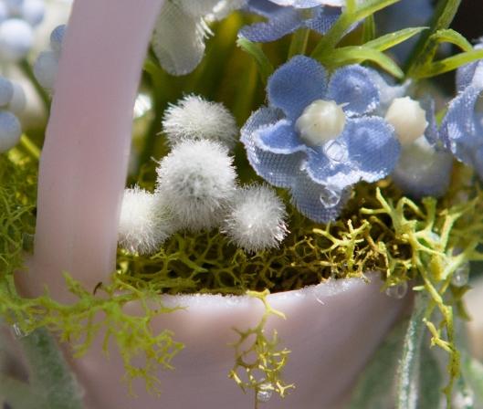 10 Miniature Blue Flowers