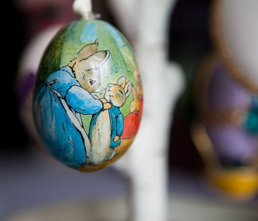 17 Peter Rabbit Egg