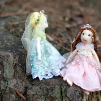 Two Little Princess Dolls