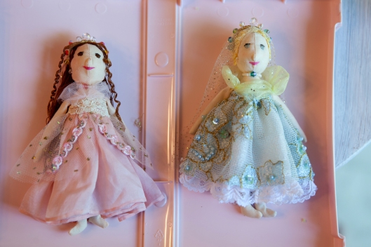 8 Little Princess Dolls