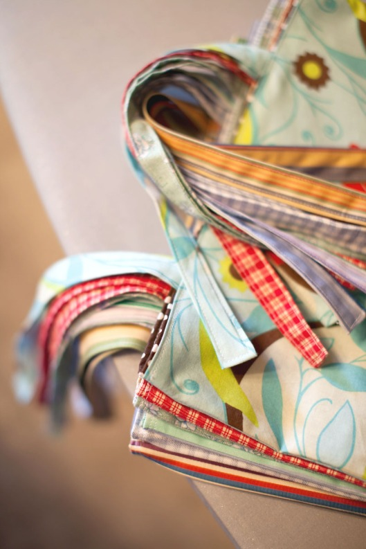 6 sewing tote bags