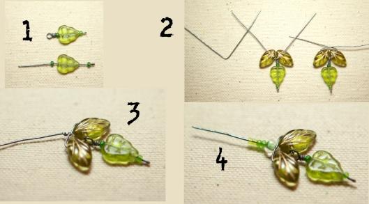 Moss Rose Bracelet Tutorial 12