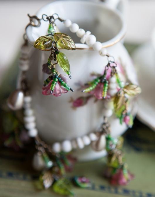 Moss Rose Bracelet Tutorial 17