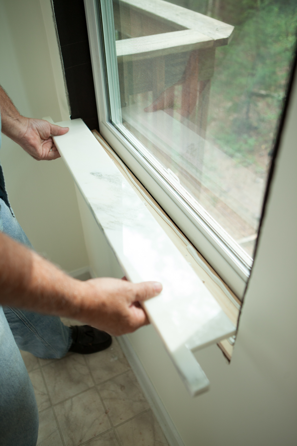 Installing Window Sills Interior