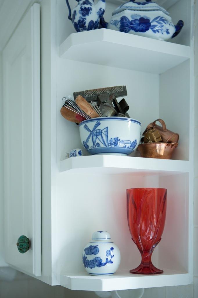 Kitchen Redo Corner shelf 2 after