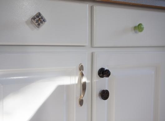 Kitchen Redo knobs 2 After f