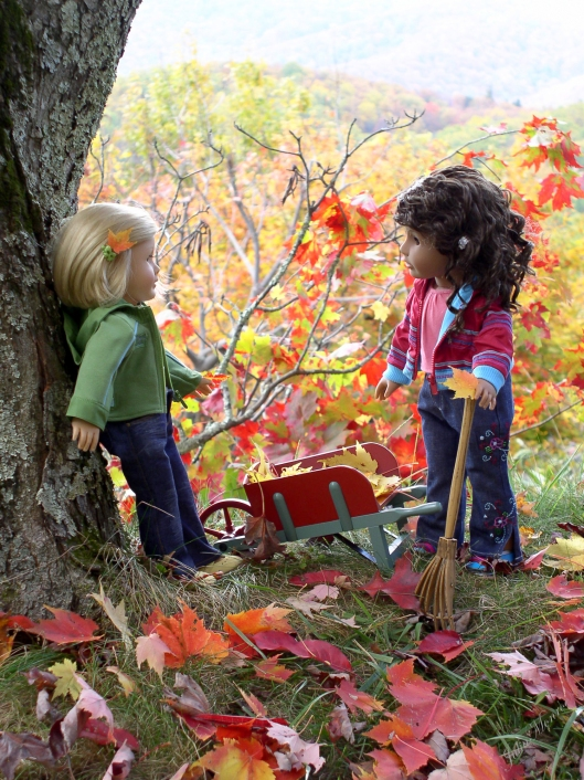 American Girl dolls in the Smoky Mountains, 2006