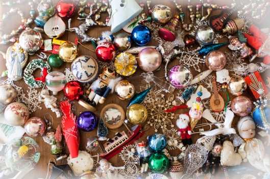 Some of our Christmas ornaments. Click photo to access a larger image to use as a desktop image if you wish.
