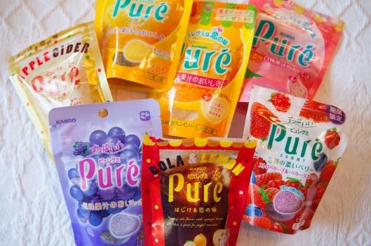 Japanese gummy treats