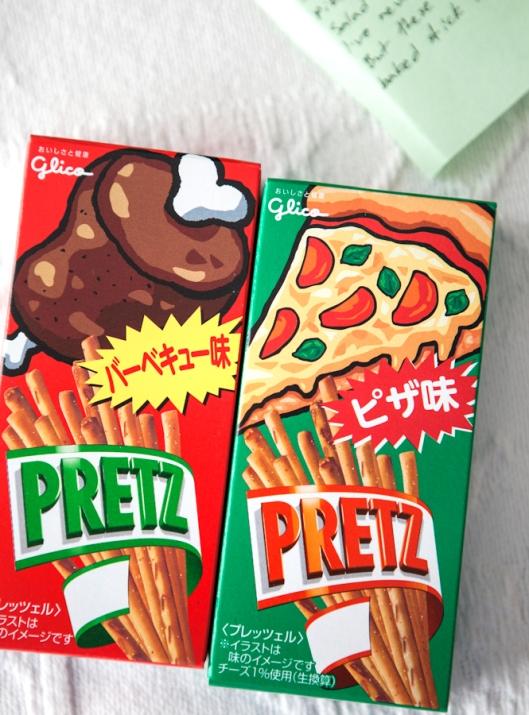 Pretz Sticks