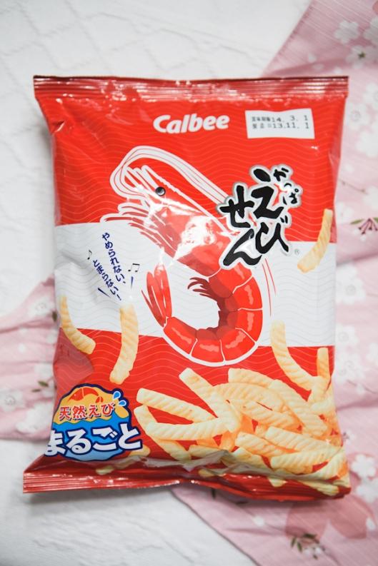 9a Japanese Treats shrimp crispy sticks