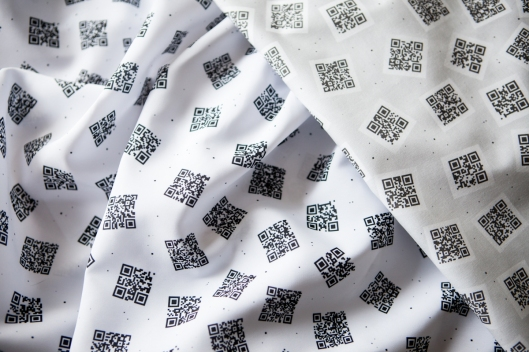 QR Code Fabric
