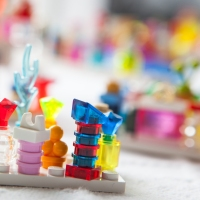 100 Lego Perfume Bottles