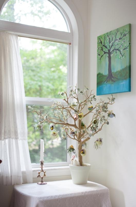 Hanging plant egg tree 14 1
