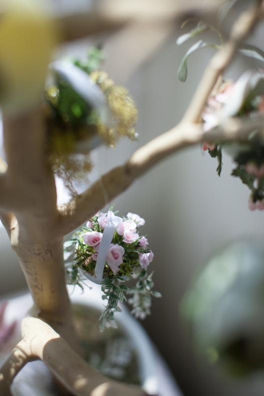 Hanging plant egg tree 14 5