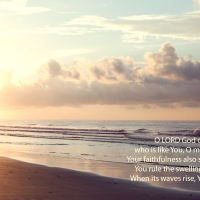 Psalm 89 8-9