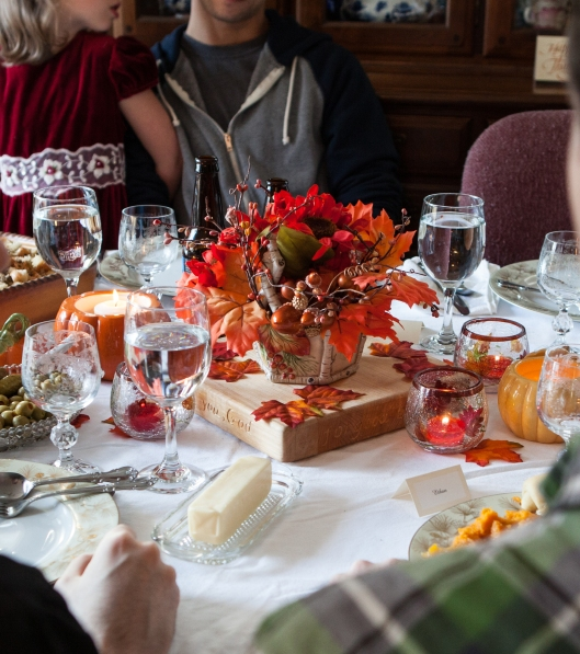 8 2014 Thanksgiving table
