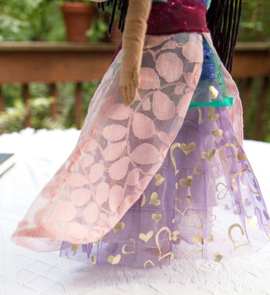 14 Princess doll dress skirt