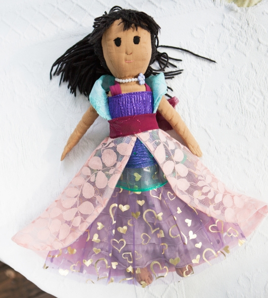 Princess doll dress