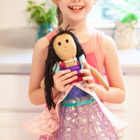 Her Princess doll dress