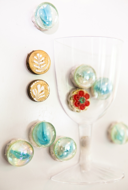 Little Latte Magnets.