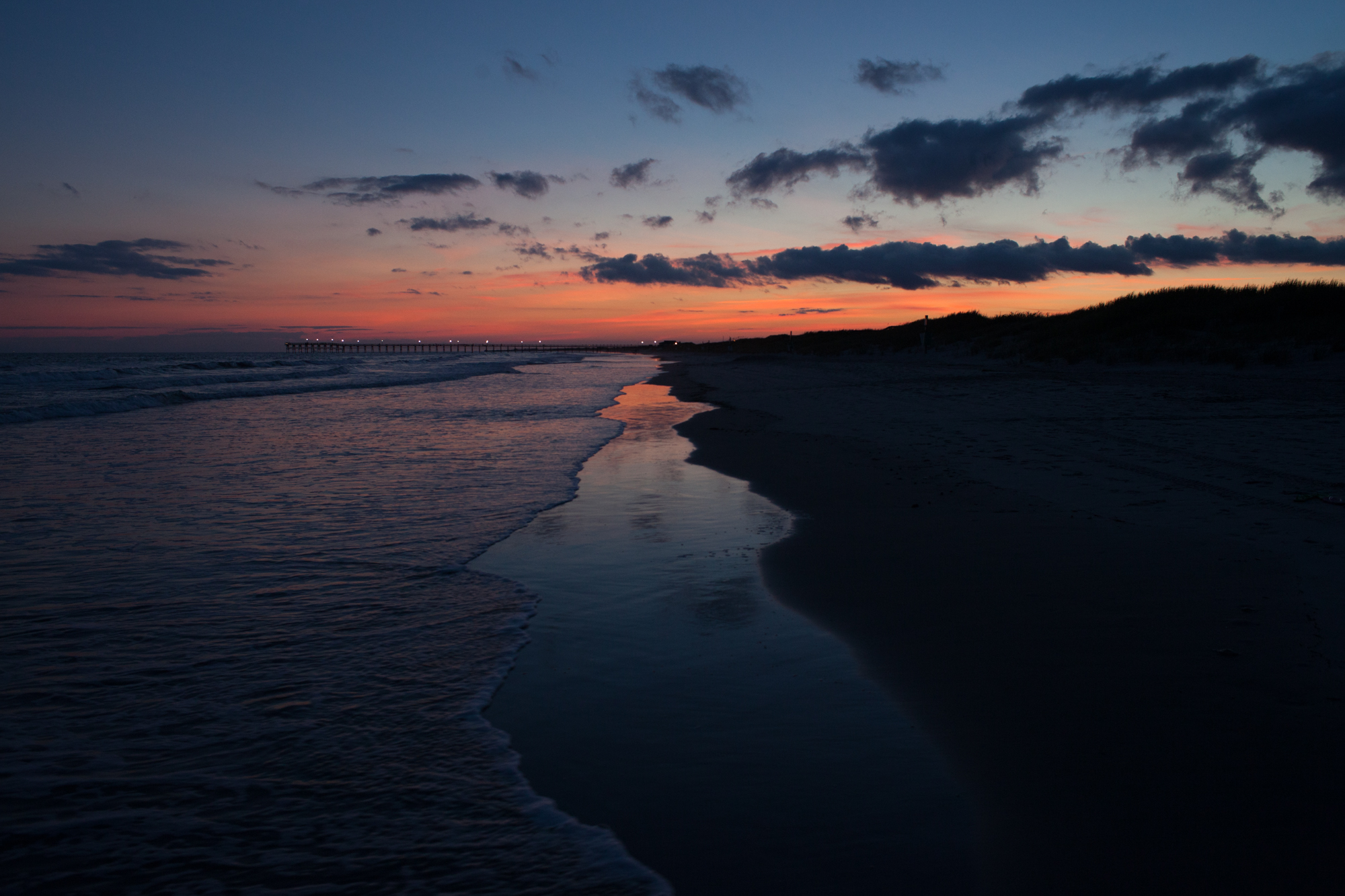 Sunset all sparkled up sunset beach nc nvjuhfo Gallery