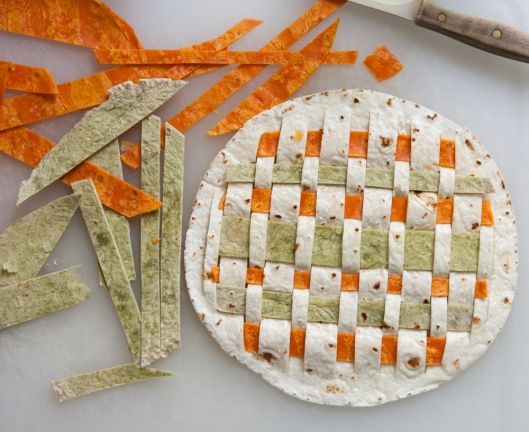 Woven Tortillas are so fun and festive! Tasty too!