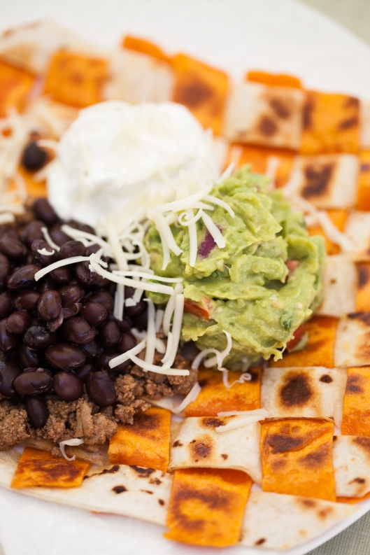 Woven Tortillas - great way to add color and flavor to a Tex-Mex meal.