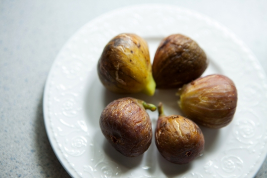 Like honeycomb dripping with honey, the plump figs ooze with sweetness.