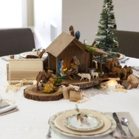 THE Carpenter Christmas Tablescape