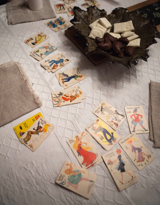 14 Winter Game Weekend vintage Old Maid cards.jpg