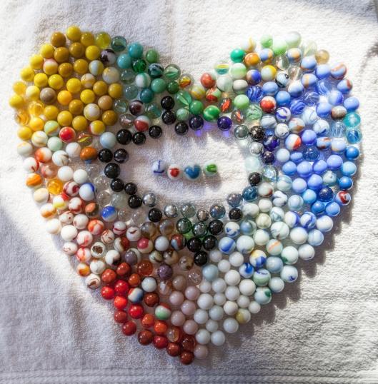 Marble Heart.