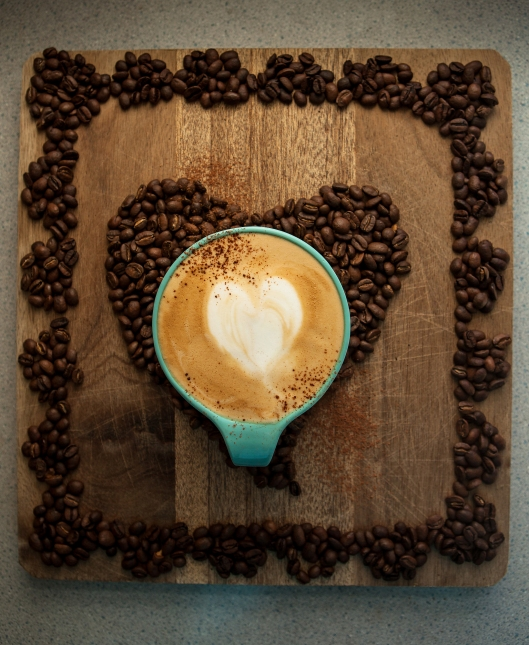 Coffee Heart in a cup I used as a child.