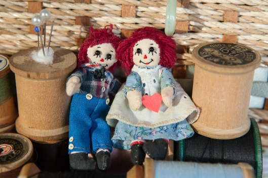 Tiny Raggedy Ann and Andy