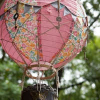 A Hot Air Balloon decoration for my granddaughter's room