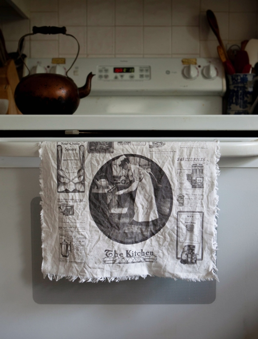 Tea Towel The Kitchen 1